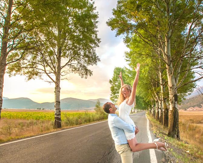 Στάθης & Φωτεινή Pre wedding shooting
